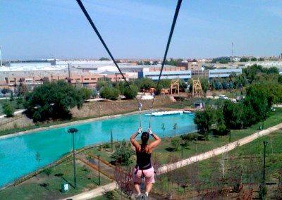 Colegios Parque Europa Madrid Gran Tirolina