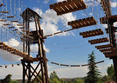 empresas madrid multiaventura park team building