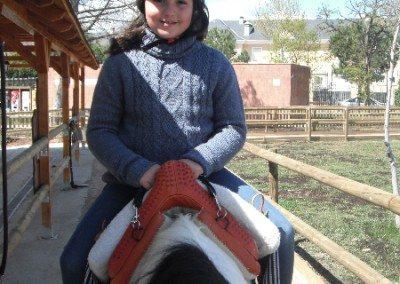 Colegios Parque Europa Madrid paseo en poni Cumpleaños