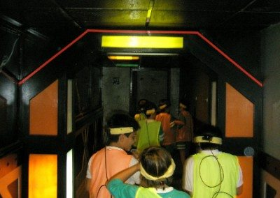 Laberinto Láser Tag Indoor Madrid Empresas Cumpleaños Colegios Las Rozas Karting Carlos Sainz