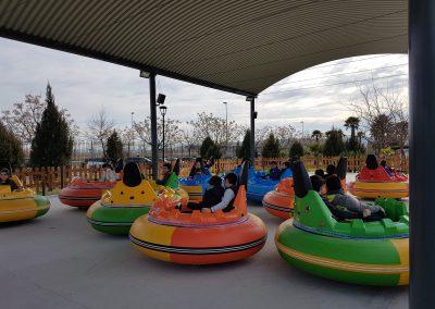 ovni loco parque europa multiaventura cumpleaños colegios