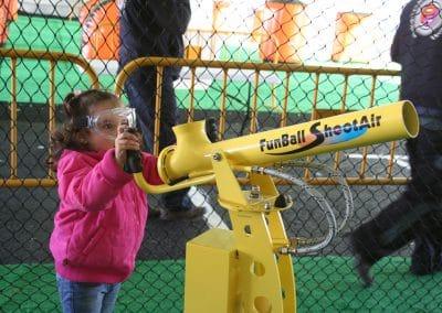 cañones de bolas parque europa ocio colegios cumpleaños
